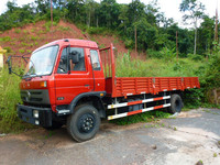 China dongfeng Euro3 diesel 170hp 4x2 8 tons lorry truck price