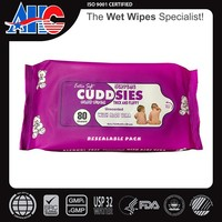 High quality baby wipes wet tissue for hand and month use