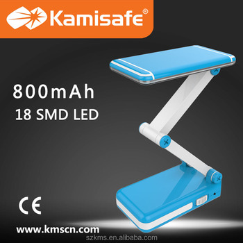 2015 Kamisafe Hot Sale led rechargeable table lamp