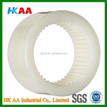 nylon sleeve gear, custom plastic nylon sleeve ring gear