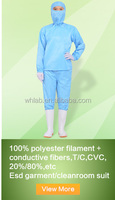 Made in China Ebola protective suits with hoods