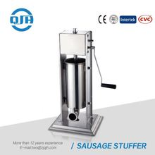 Small scale food processing machines vertical pig meat second hand sausage filler for sale