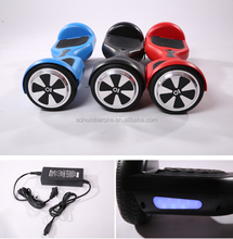 6.5inch 2 wheels electric standing scooter/ Self balancing scooter rechargeable battery 300w*2