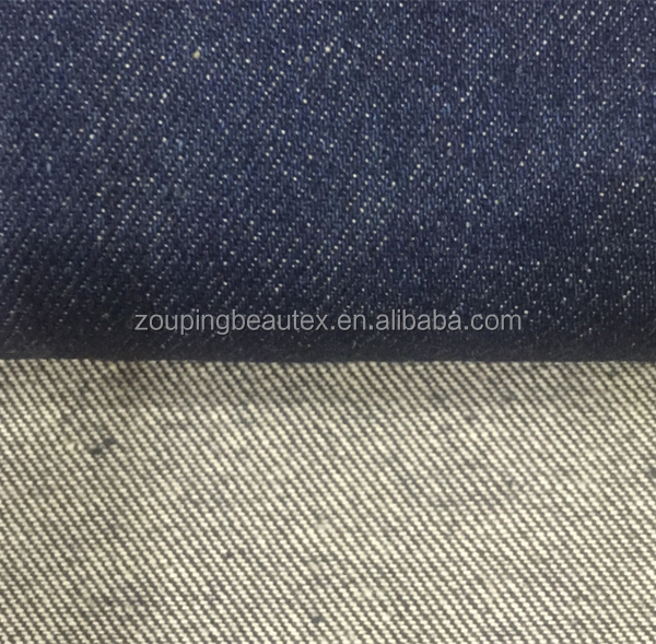 100% cotton colored cheap denim fabric for the jeans