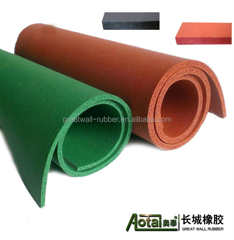 2-50mm Thickness Best Quality High Density Rubber Foam Spong Thermal Insulation Rolls vulcanized Rubber Sheet