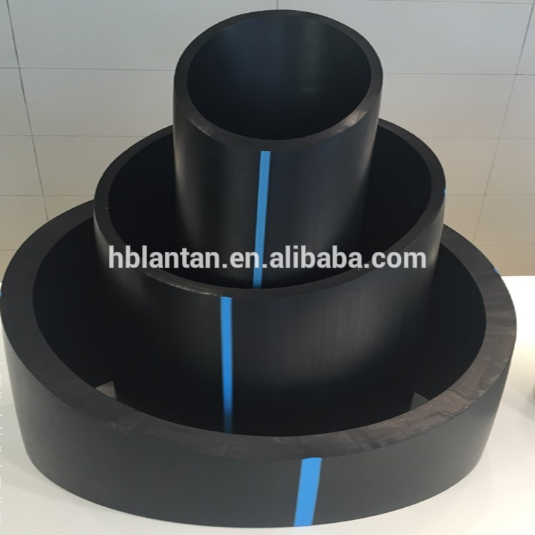 Customize flexible PE100 materials hdpe water supply pipe