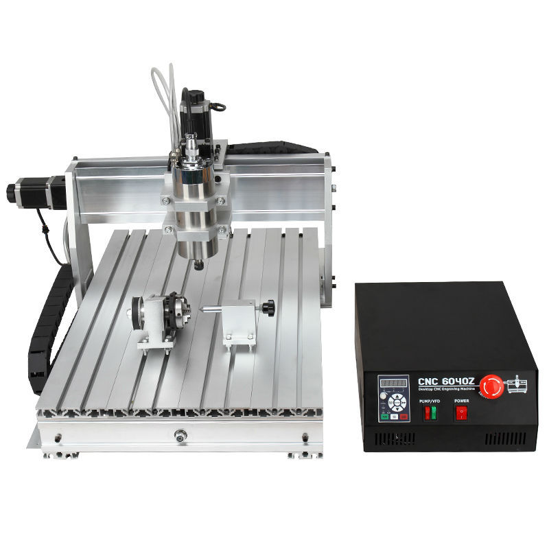 Ball Screw 6040Z-S 4 Axis 1.5KW Small CNC Milling Machine For Sale