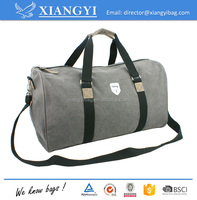 Vintage Washed Canvas Sports Duffle bag Travel bag