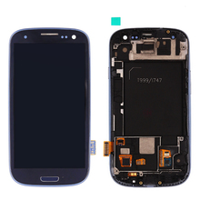 Black and White LCD Touch Screen Digitizer For Samsung Galaxy SIII S3 T999 LCD Digitizer Assembly