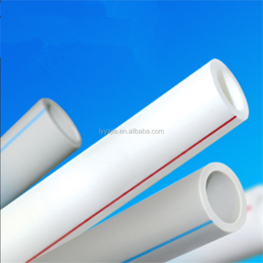 High quality Plumbing material pure ppr pipe for cold and hot water