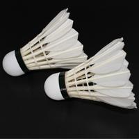 International tournament Indoor White Goose Feather badminton shuttlecock