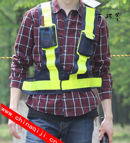 Hot selling black safety vest