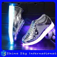 Pretty well made child wear led shoes,cheap price custom dancing led shoes Amazon Europe child wear led shoes