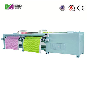YBD36 commercial high efficiency computerized quilting embroidery machine with 50.8mm needle distance