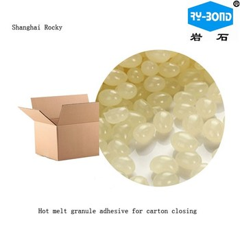 Hot Melt Carton Packing Glue Cardboard Sealing Adhesive