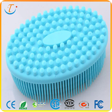 New Arrival Custom Design Cleaning Brush Silicone Bath Brush Body Brush