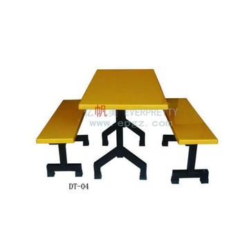 High Quality Dining Table And Bench, Cheap Fiber Dining Table Set, Wholesale Industrial Restaurant Tables