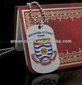 wholesale dog tag embossing with soft enamel