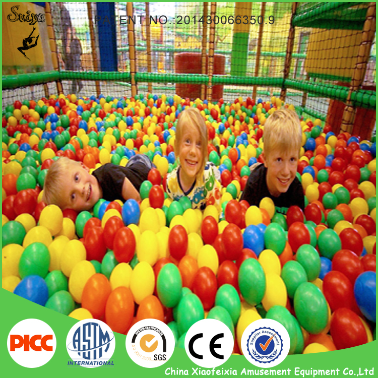 New Design Kids Games Play Area Children Indoor Playground With Ball Pool