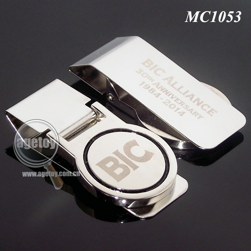 <strong>Metal</strong> Money Clips with Customized Logo