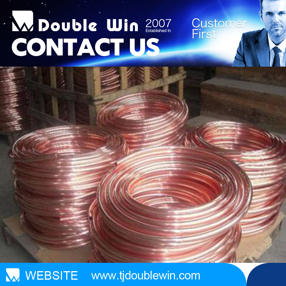 Manufacturing in China insulated copper pipe coil applied in water heater with price per meter with kinds of size