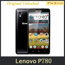 "Original Lenovo P780 Cell Phones MTK6589 Quad Core 5"" 1280x720 Android 4.2 Gorilla Glass1280x720 1GB RAM 8.0MP 4000mAh Battery"