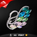 Latest Design Korean High Quality Custom Crystal Lady Brooch