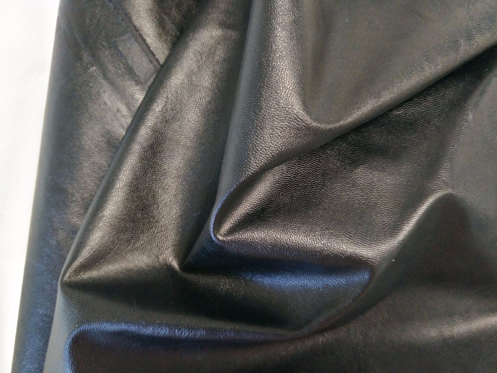 Bulk China Fashion Jacket Use Leather Raw Material Polished And Embossed Pattern And Material
