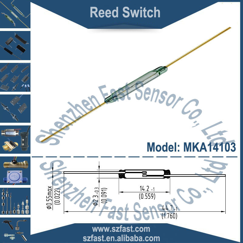 Small Hermetic Reed Switch