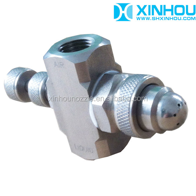 Air disinfection rust removal agricultural spray nozzle