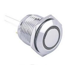 High quality hotsell stop metal push button switch 19mm