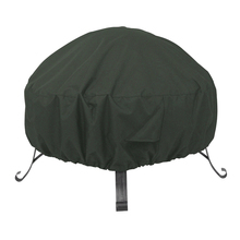 High quality Polyester/Oxford Durable and Water Resistant Fabric Round Fire Pit Cover outdoor Brazier cover