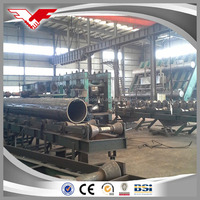 China factory price q195-235 welded hollow round steel pipe size