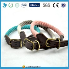 Wholesale rope pet dog Collars