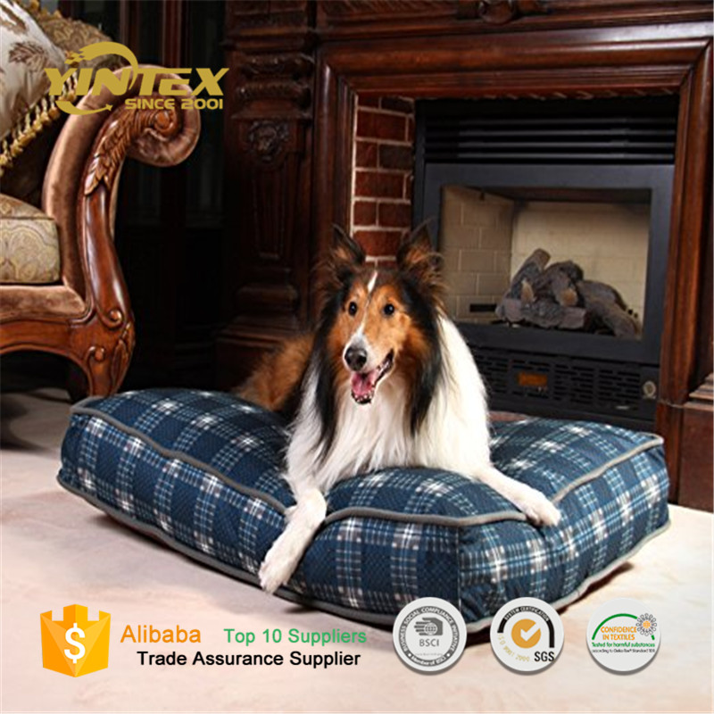 High quality comfortable Fashion Customize Dog Bed Plush Pet Bed