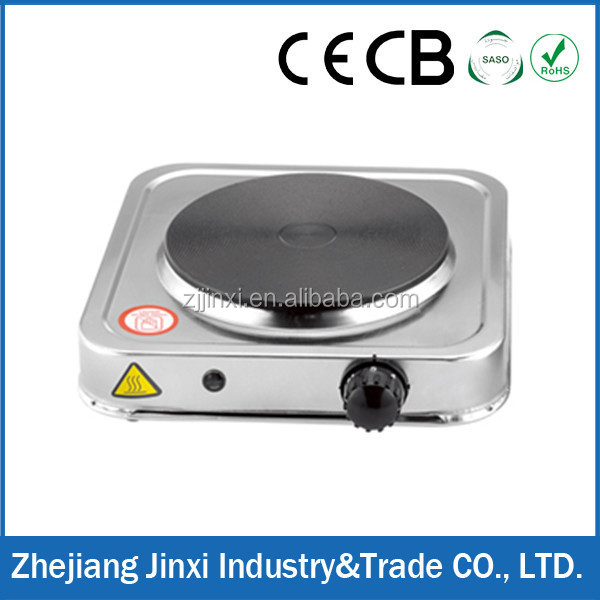Stainless Steel 1000W HP-100AS Electric Hot Plate Kmart