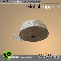 High Strength Insulating Asbestos Free Fiberglass Strips Heat Treated Fiber Glass Tape