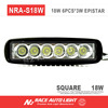 N2 Wholesale DRZ 400 Motorcycle LED Light Bar 18 watt single row for dirtbikes powersport