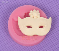 silicone cake mold mask,mask shaped gum paste mold,chocolate mask mould