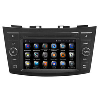 Quad Core Android 4.4 Touch Screen Central Multimedia for Suzuki Swift Car Audio DVD Player With GPS Navigation Hot Selling