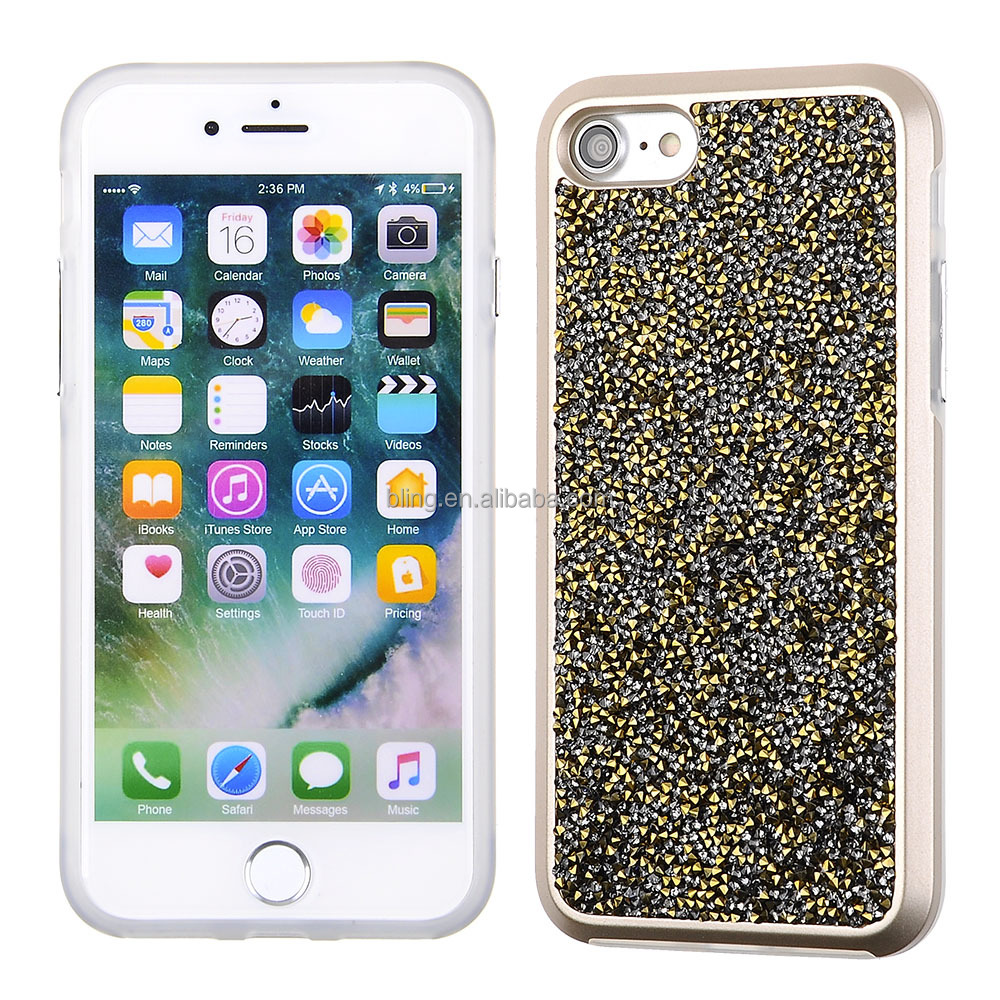 Hot selling TPU bumper Bulk buy crystal diamond phone case for iphone 7