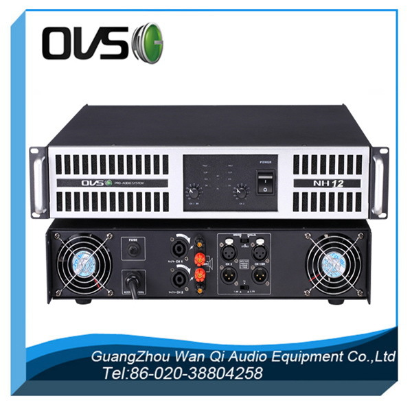 2000w class H professional mosfet power amplifier pa sound system
