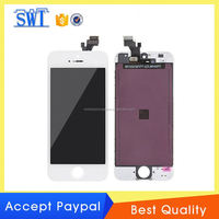 "Accept Paypal Smartphone lcd digitizer touch screen assembly for iPhone 5"" made in China"