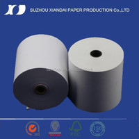 "2015 high quality 3"" width coupon bond paper from China"