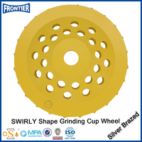 Professional manufacturer high polished cup resin bond diamond grinding wheels