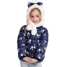QDT1608 2016 Winter Wholesale Children's Boutique Clothing Kid Clothes Cute Printed Down Jacket