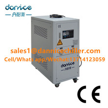 Industrial Water Cooled Chiller 10Ton R134A with Stainless Steel Water Tank for Swimming Pool