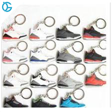 wholesale rubber various models available Sneaker keychain