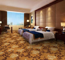 Thick Wilton Carpet Luxury Hotel Carpet Keep Warm And Durable Decorative Carpet