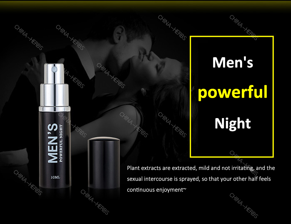 100% Herbs Delay Spray Premature Ejaculation Penis Male Sex Aid Last Longer harmless